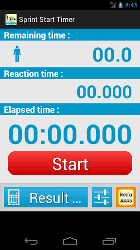 Sprint Start Timer