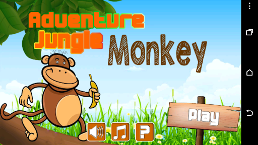 Adventure Jungle Monkey