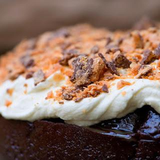 Devil's Food Butterfinger Cake.
