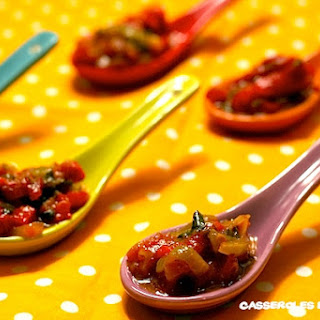 Moroccan-style Pepper Salad.