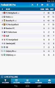Fodbold DK Pro Soccer - screenshot thumbnail