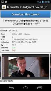 Torrent Tracker - screenshot thumbnail