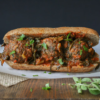 Vegan Beanball Sub with SautéEd Kale Marinara Recipe