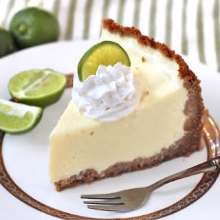Healthy Key Lime Cheesecake