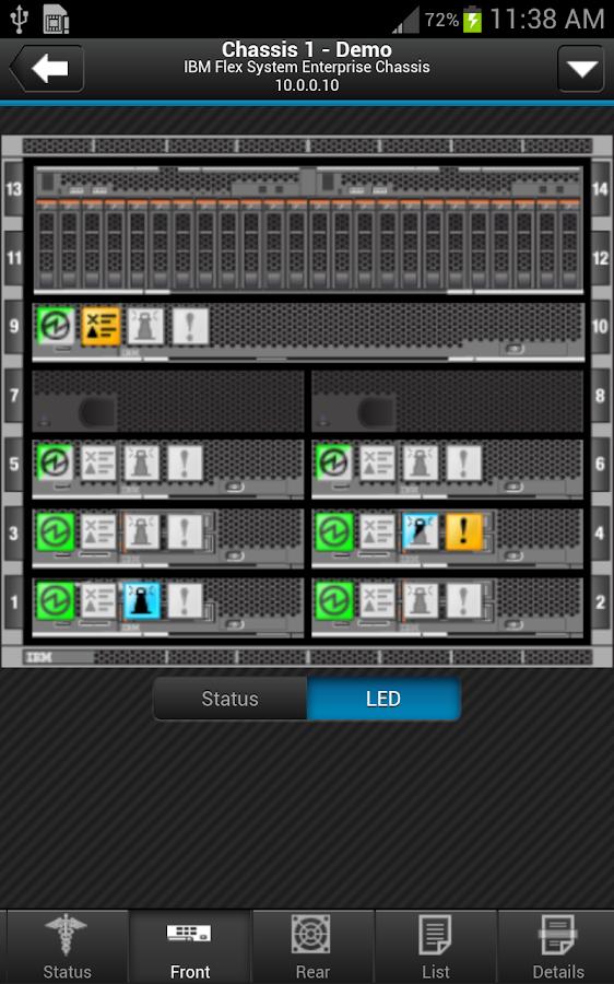 IBM Flex System Manager - screenshot