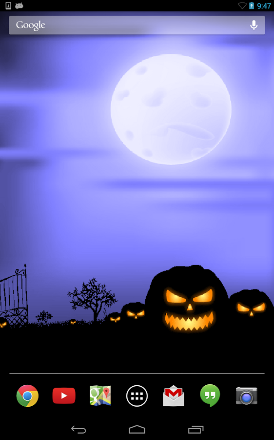 Halloween Live Wallpaper Free- screenshot