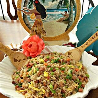 Spam & Edamame Fried Rice.