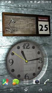 Clock and Calendar 3D 7