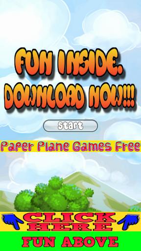 Paper Plane Games Free