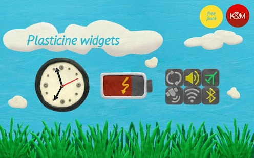 KM Plasticine widgets - screenshot thumbnail