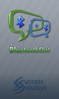 Screenshot of Bluetooth Chat