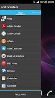 Screenshot of Ray Sidebar Launcher