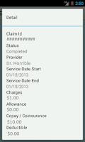 Screenshot of BCBSWNY Mobile