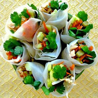 Thai Fresh Rolls (with Vegetarian Option)