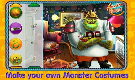 Cool Monsters Dress Up- screenshot thumbnail