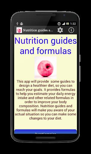 营养指导和公式