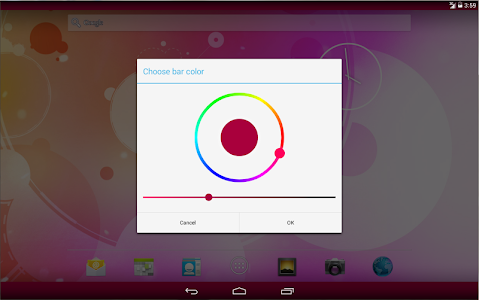 Colored Bars Launcher screenshot 7