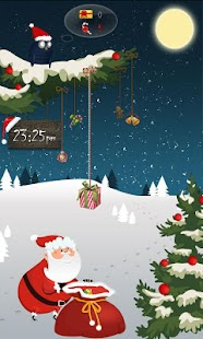 GO Locker Santa Claus Theme - screenshot thumbnail