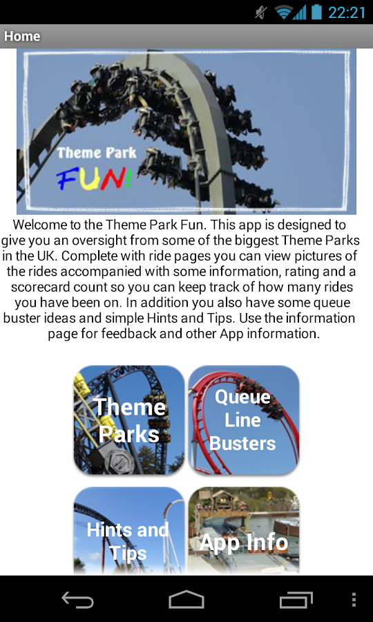Theme Park Fun LITE 2014 - screenshot