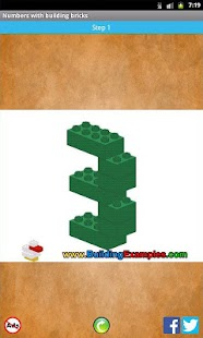 Numbers with building bricks- screenshot thumbnail
