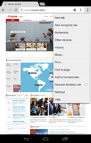 Canon Print Service Android App Screenshot