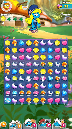 Smurfette's Magic Match 1.3.0 screenshot 58645