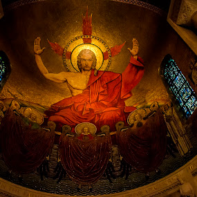 National Shrine of the immaculate conception by Sarthak Bisaria - Buildings & Architecture Places of Worship ( national shrine, church, jesus, washington dc )