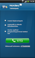Screenshot of Nordea Eesti