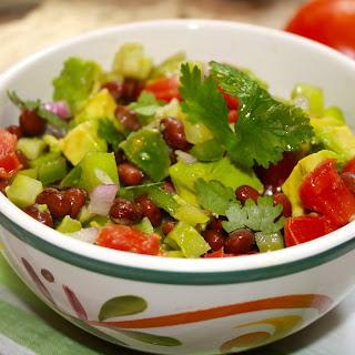 Green and Red Tomato Avocado Salsa Recipe