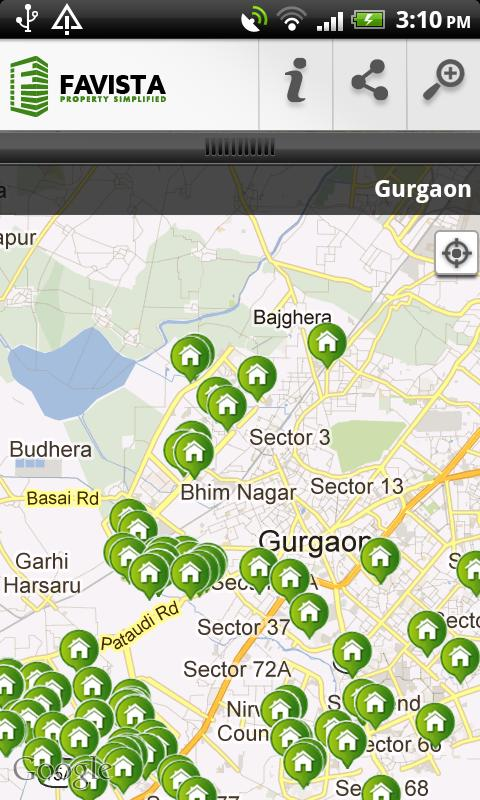 Gurgaon Property Search - screenshot