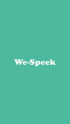 We-Speek messenger