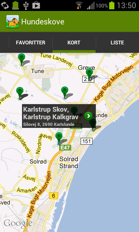 All Dog Parks in Denmark- screenshot