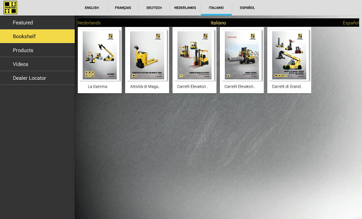 Hyster EMEA Product Library