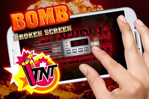 Bomb broken screen