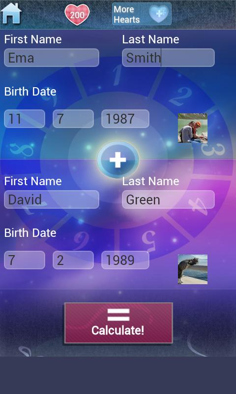 Love Test Calculator Deluxe - screenshot