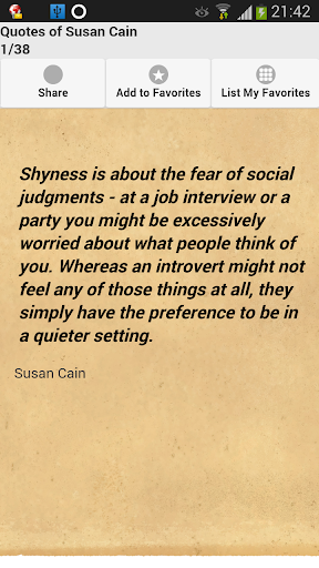 Quotes of Susan Cain