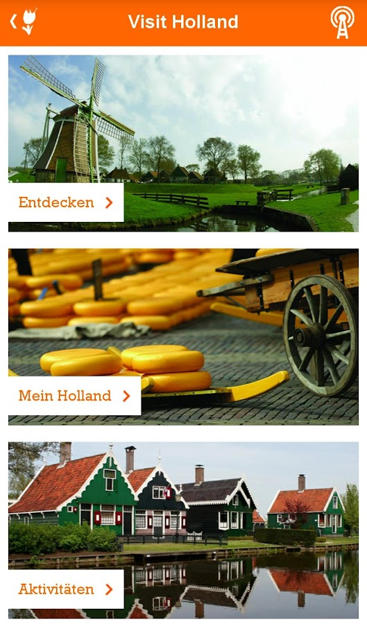 Visit Holland – Screenshot
