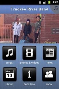 Truckee River Band - screenshot thumbnail