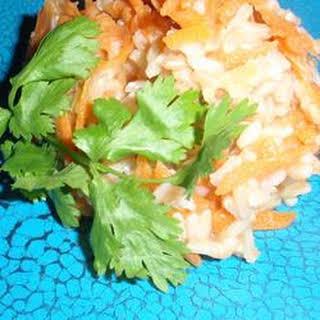 Pumpkin-Carrot Rice.