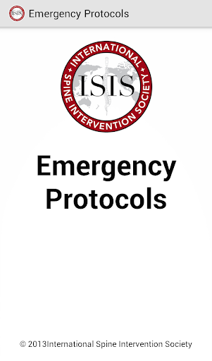 ISIS Emergency Protocols
