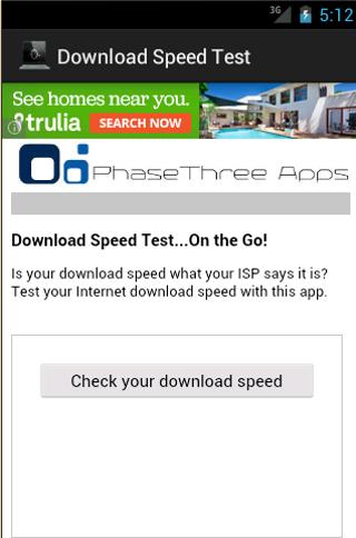 Download Speed Test