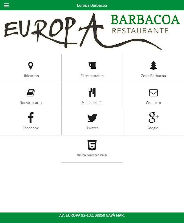 EUROPA BARBACOA- screenshot