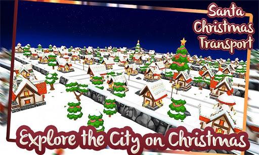 サンタクリスマス交通3D