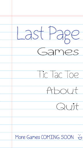 Last Page Games