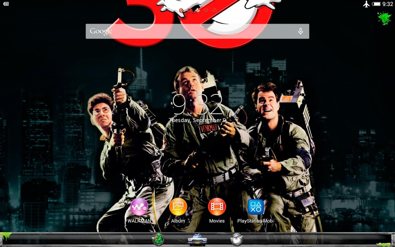 XPERIA™ Ghostbusters theme - screenshot
