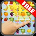 FREE Fruit Swipe Frenzy Match3 icon
