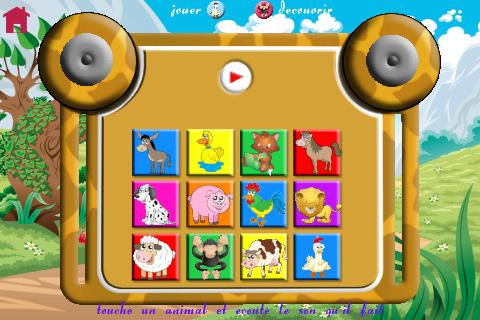 Ponies and games for babies - screenshot