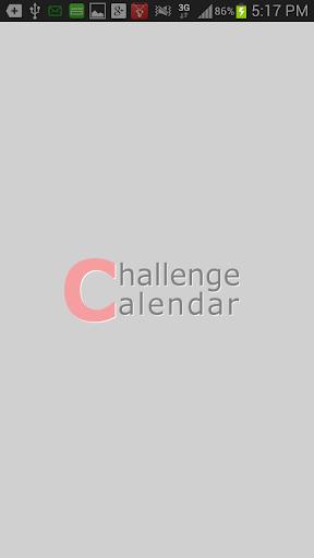 Challenge Calendar 目標カレンダー
