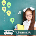 Grade 4 Math by GoLearningBus icon