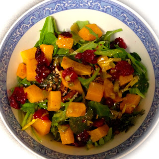 Kale and Squash Winter Salad